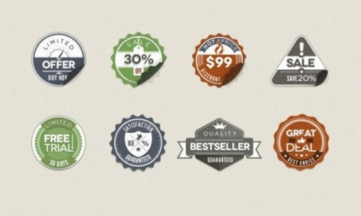 Sales Sticker
