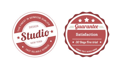 Vintage Badge Sticker
