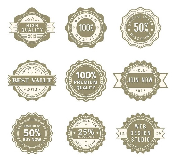 Label PSD Pack